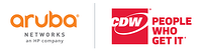 Aruba and CDW logo